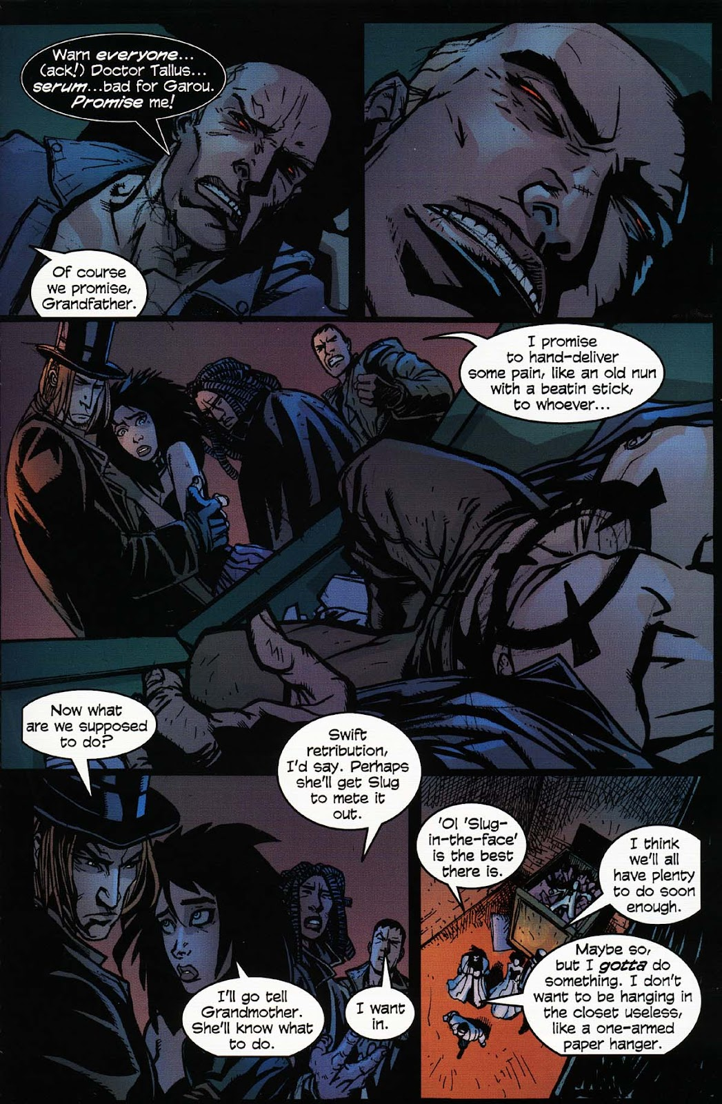 Read online Werewolf the Apocalypse comic -  Issue # Bone Gnawers - 13