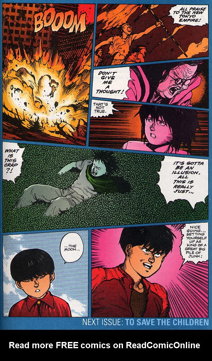 Read online Akira comic -  Issue #18 - 62
