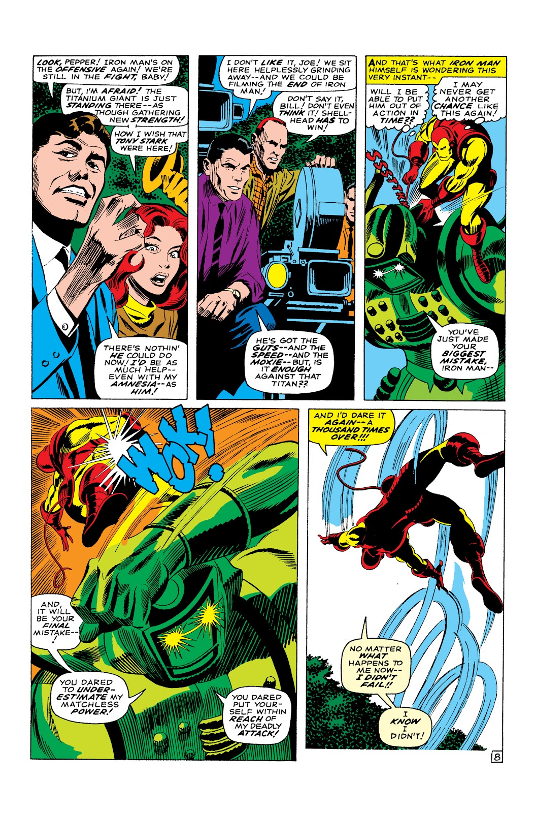 Read online Marvel Masterworks: The Invincible Iron Man comic -  Issue # TPB 3 (Part 5) - 2