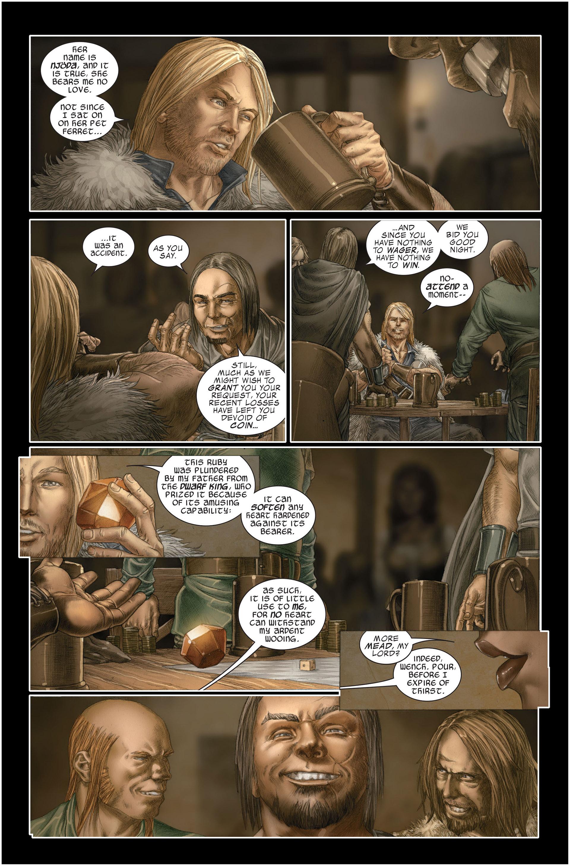 Read online Astonishing Thor comic -  Issue #1 - 11