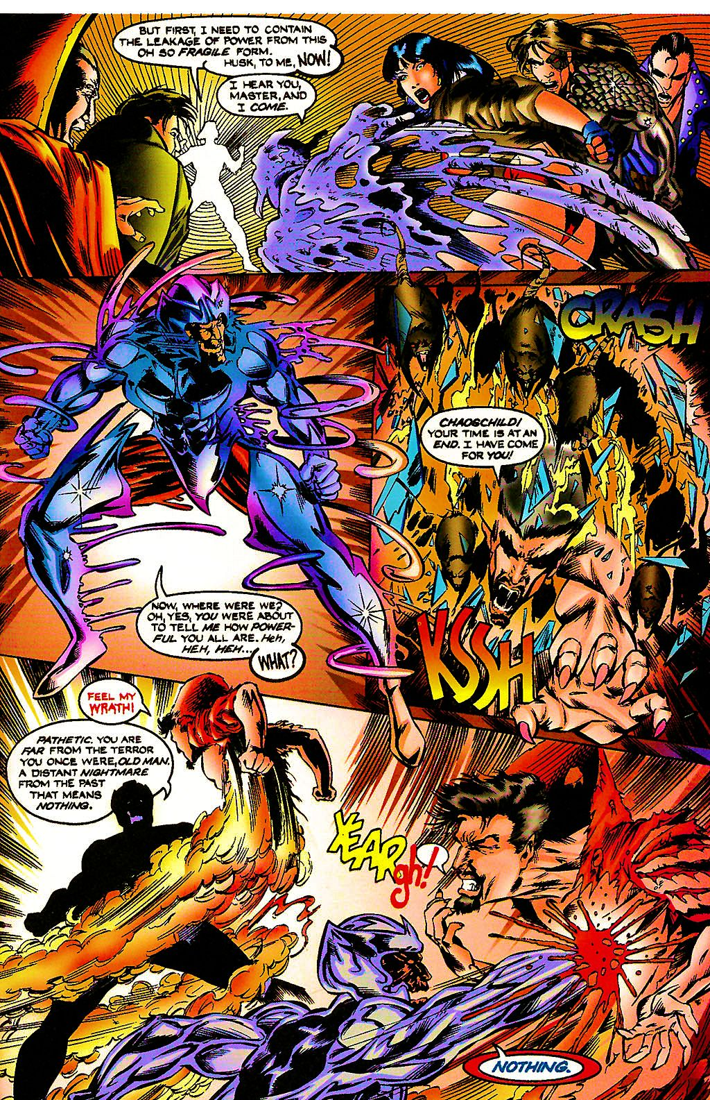 Read online Chains of Chaos comic -  Issue #3 - 27