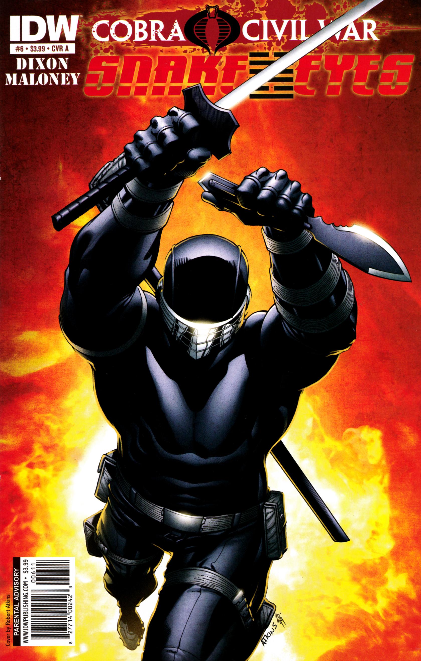 Read online G.I. Joe: Snake Eyes comic -  Issue #6 - 1