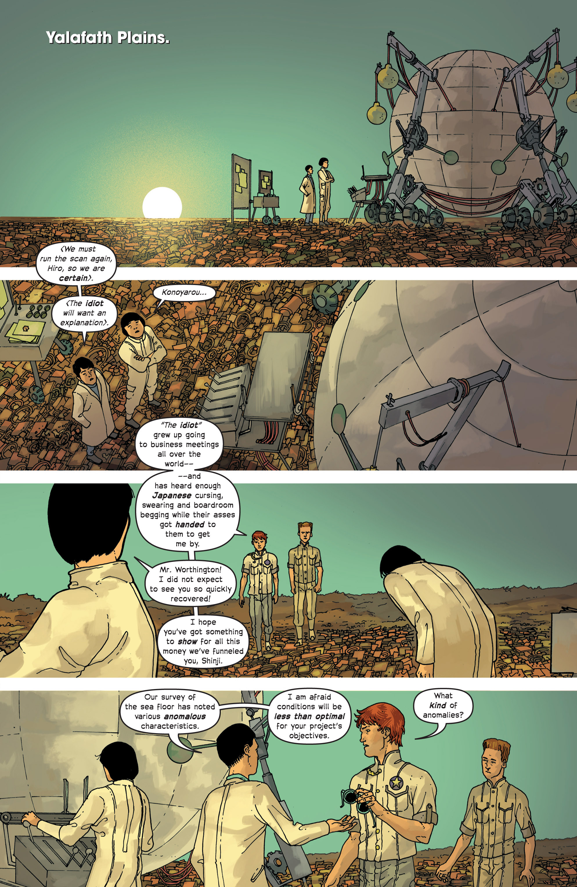 Read online Great Pacific comic -  Issue #8 - 21