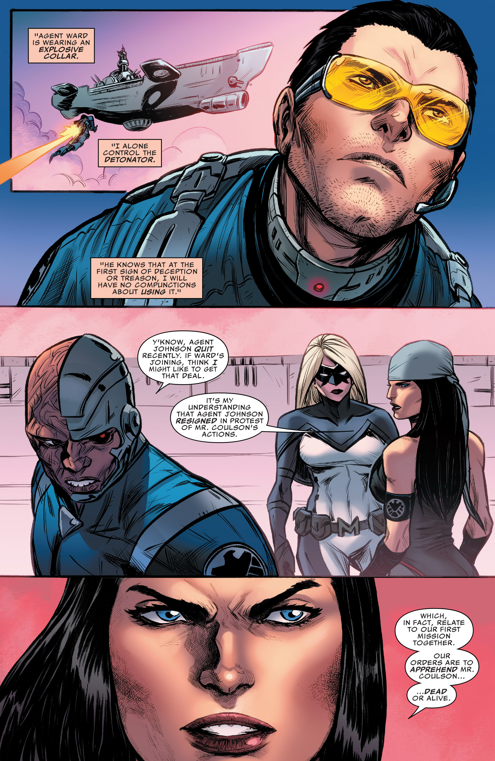 Read online Agents of S.H.I.E.L.D. comic -  Issue #9 - 5