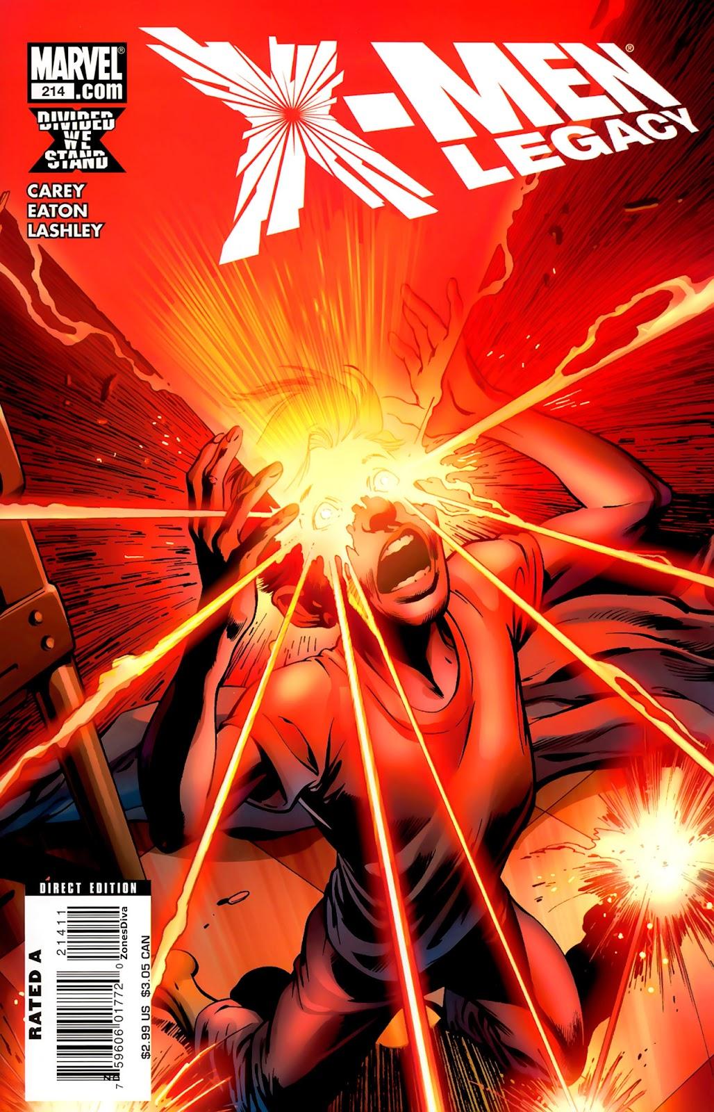 X-Men Legacy (2008) 214 Page 1