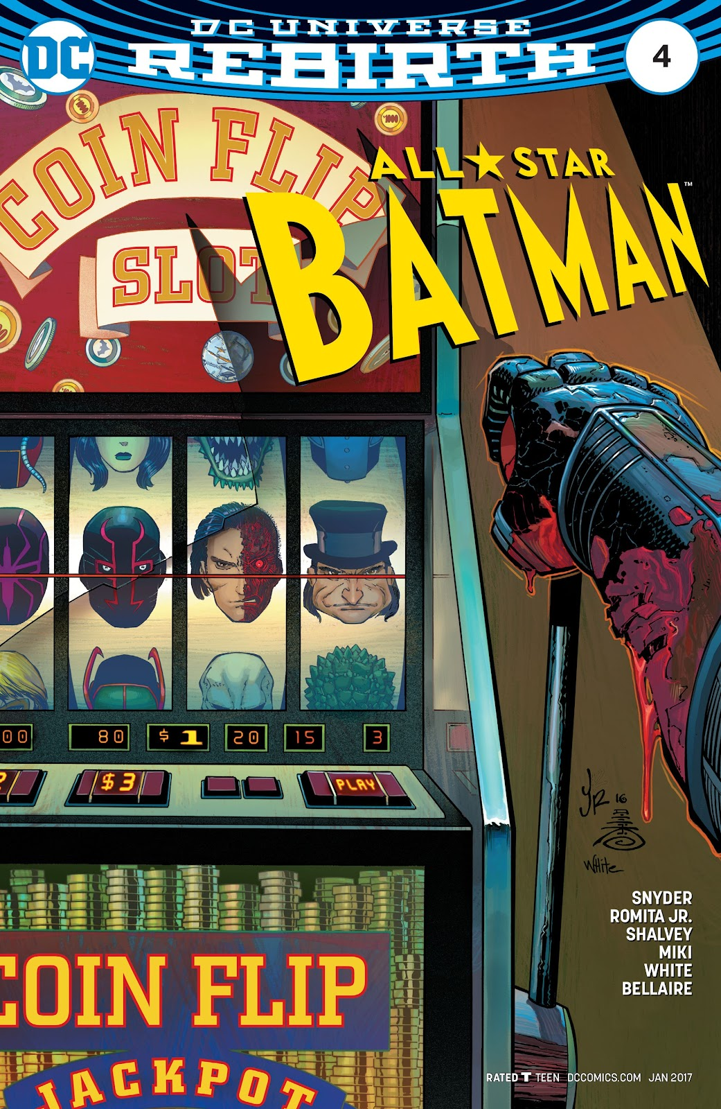 All-Star Batman 4 Page 1