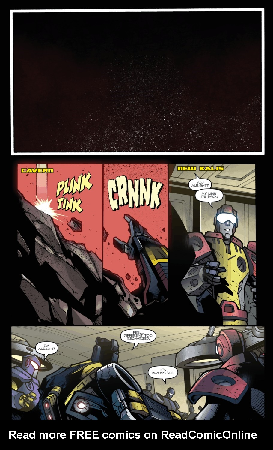 Read online Transformers Prime: Beast Hunters comic -  Issue #5 - 9