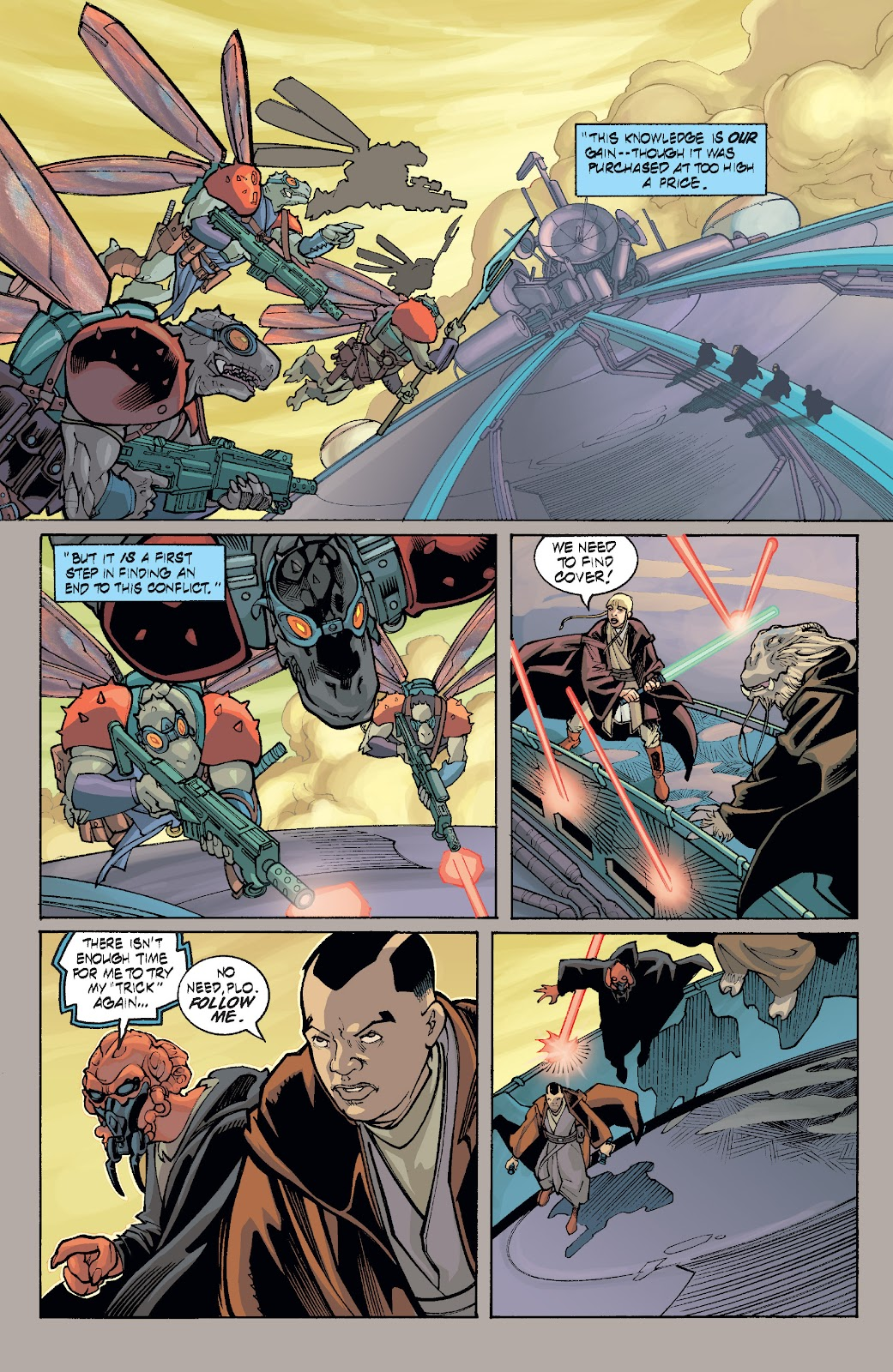 Read online Star Wars Legends: Rise of the Sith - Epic Collection comic -  Issue # TPB 1 (Part 5) - 11