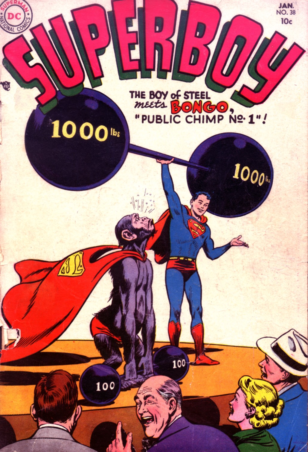 Superboy (1949) issue 38 - Page 1