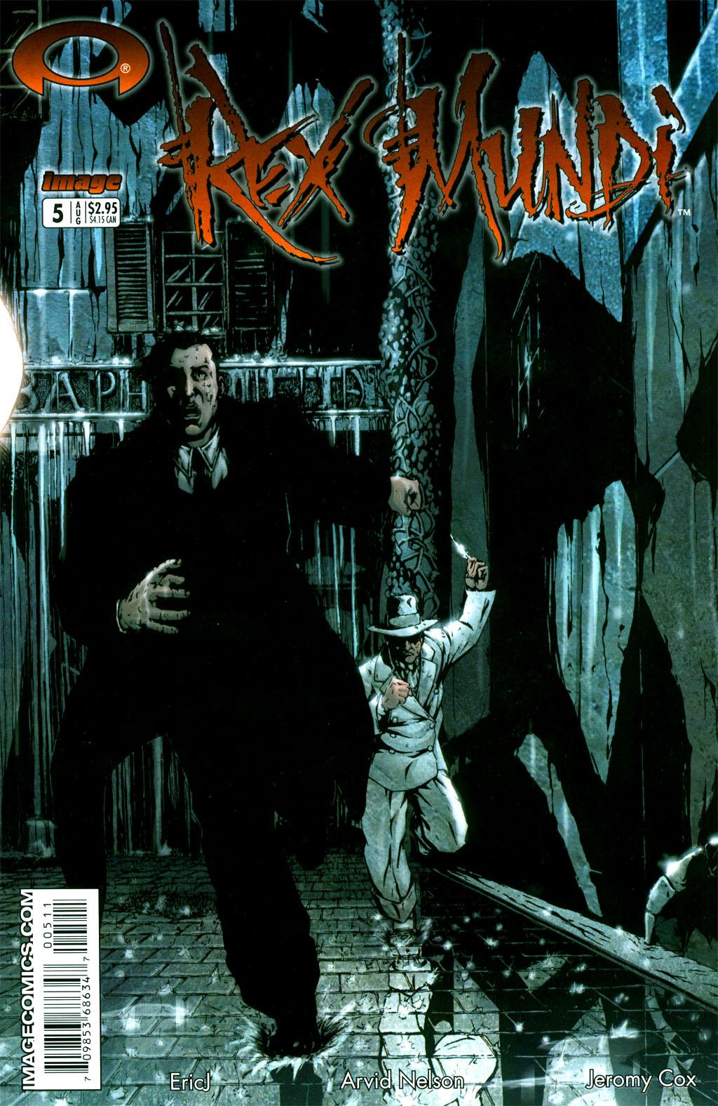 Read online Rex Mundi comic -  Issue #5 - 2