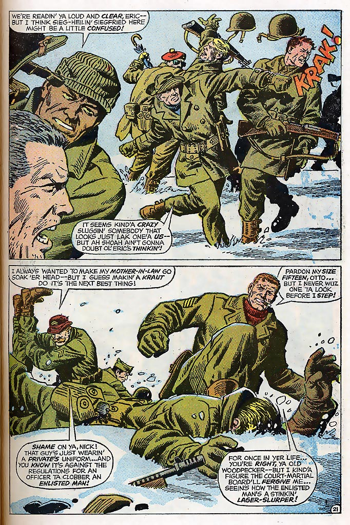 Read online Sgt. Fury comic -  Issue # _Special 4 - 27