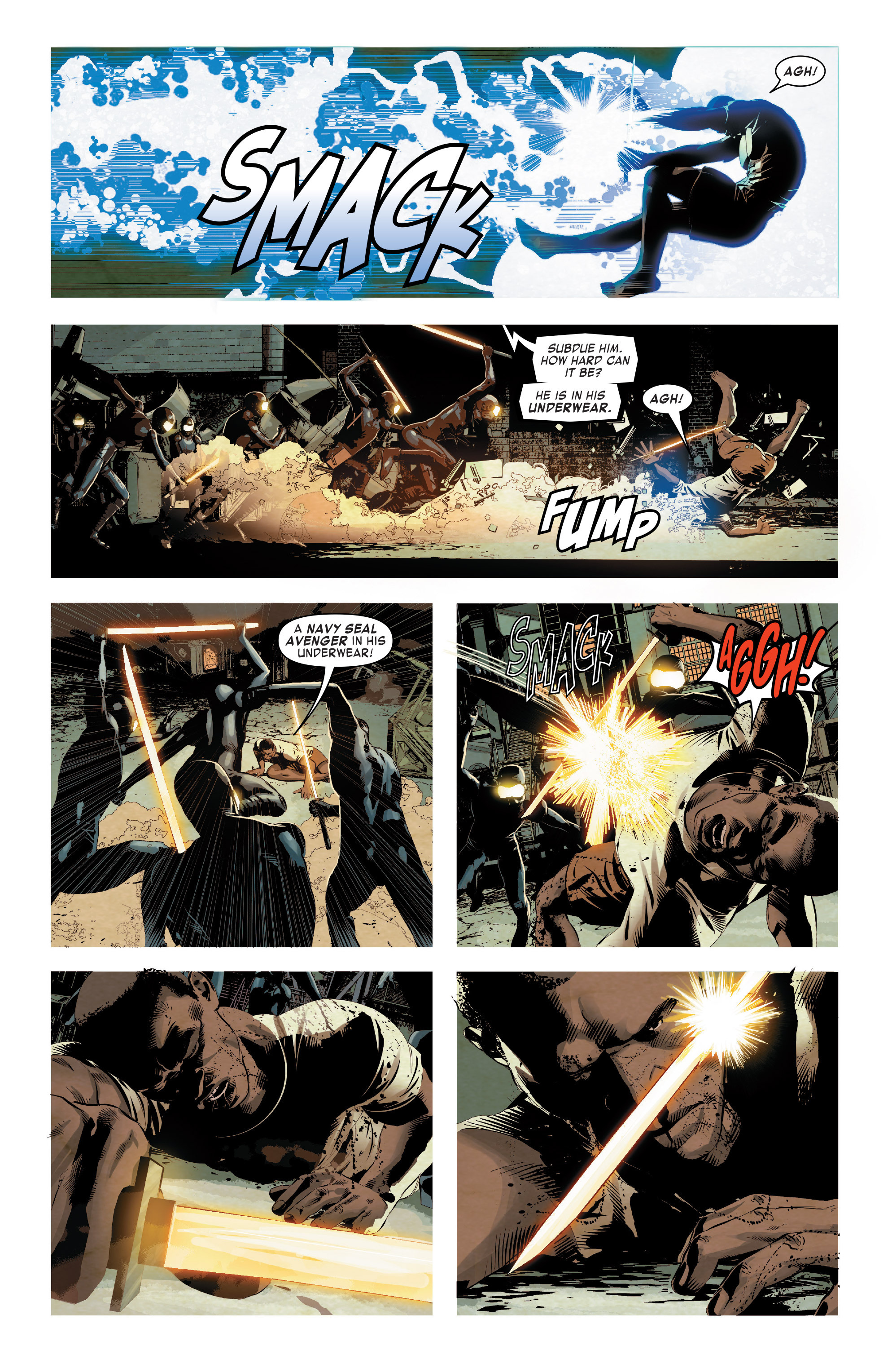Read online True Believers: Invincible Iron Man-The War Machines comic -  Issue # Full - 56