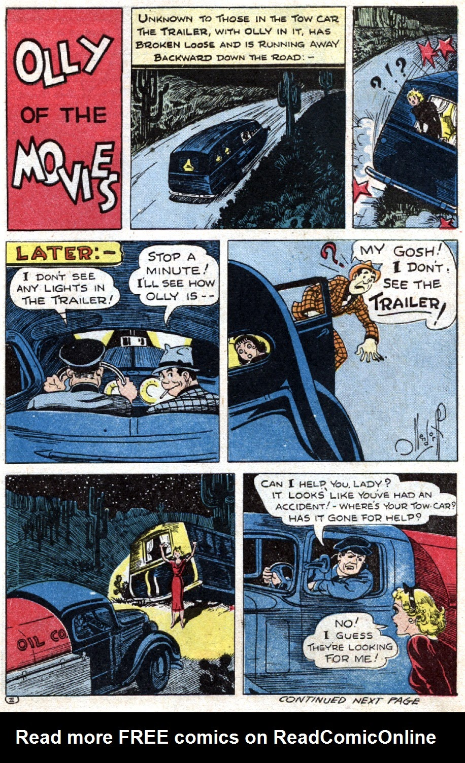 Read online Famous Funnies comic -  Issue #121 - 39
