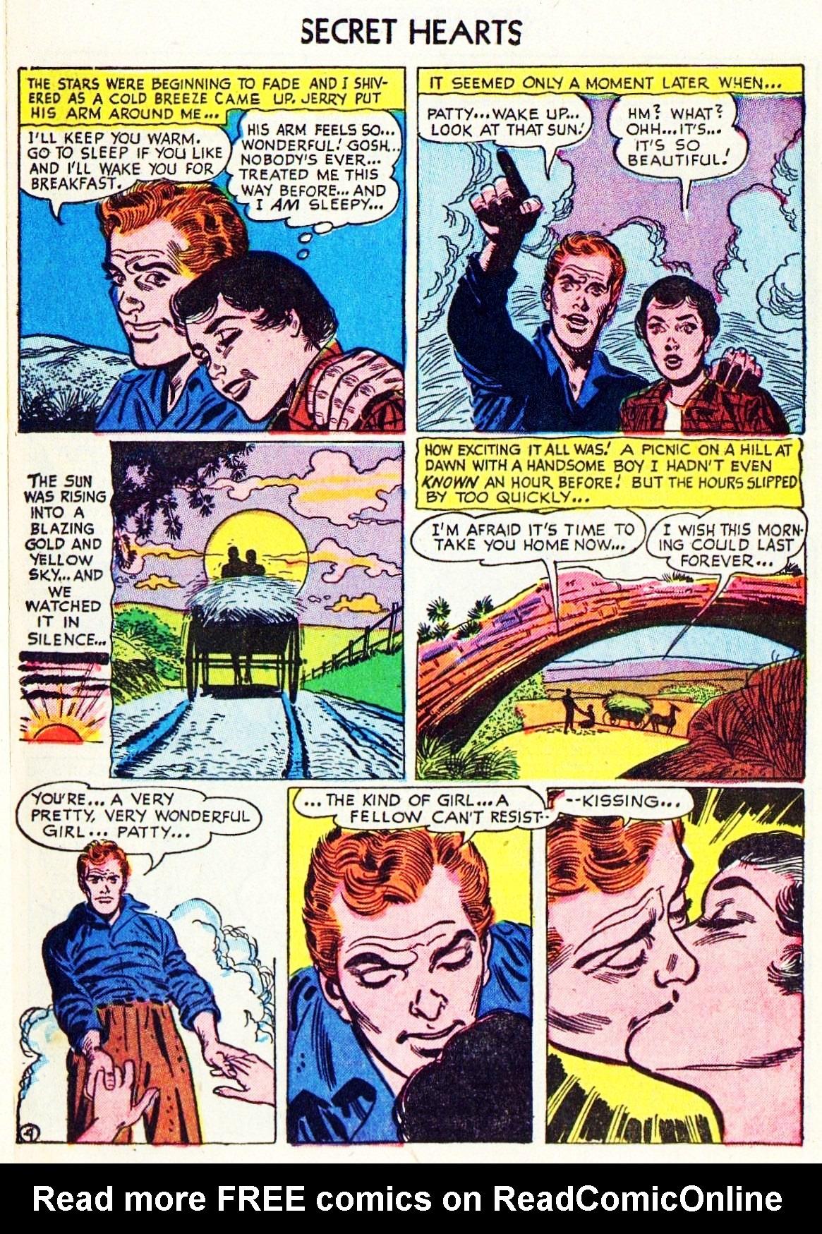 Read online Secret Hearts comic -  Issue #15 - 14