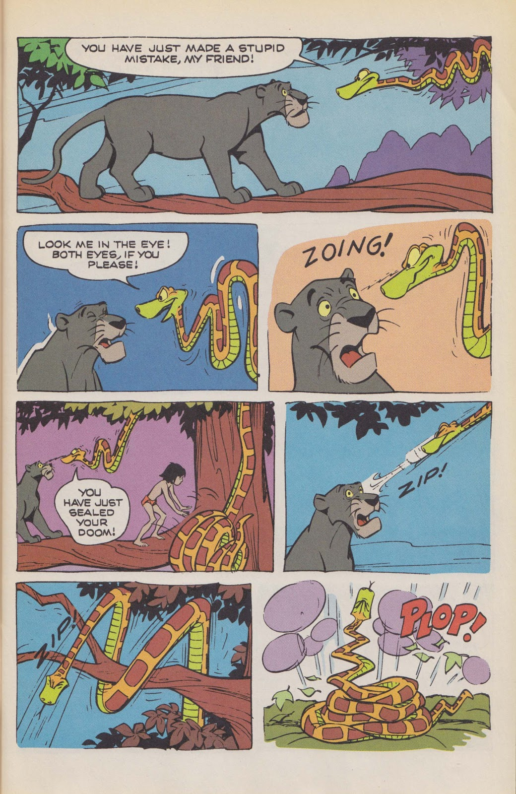 Read online The Jungle Book comic -  Issue # Full - 13