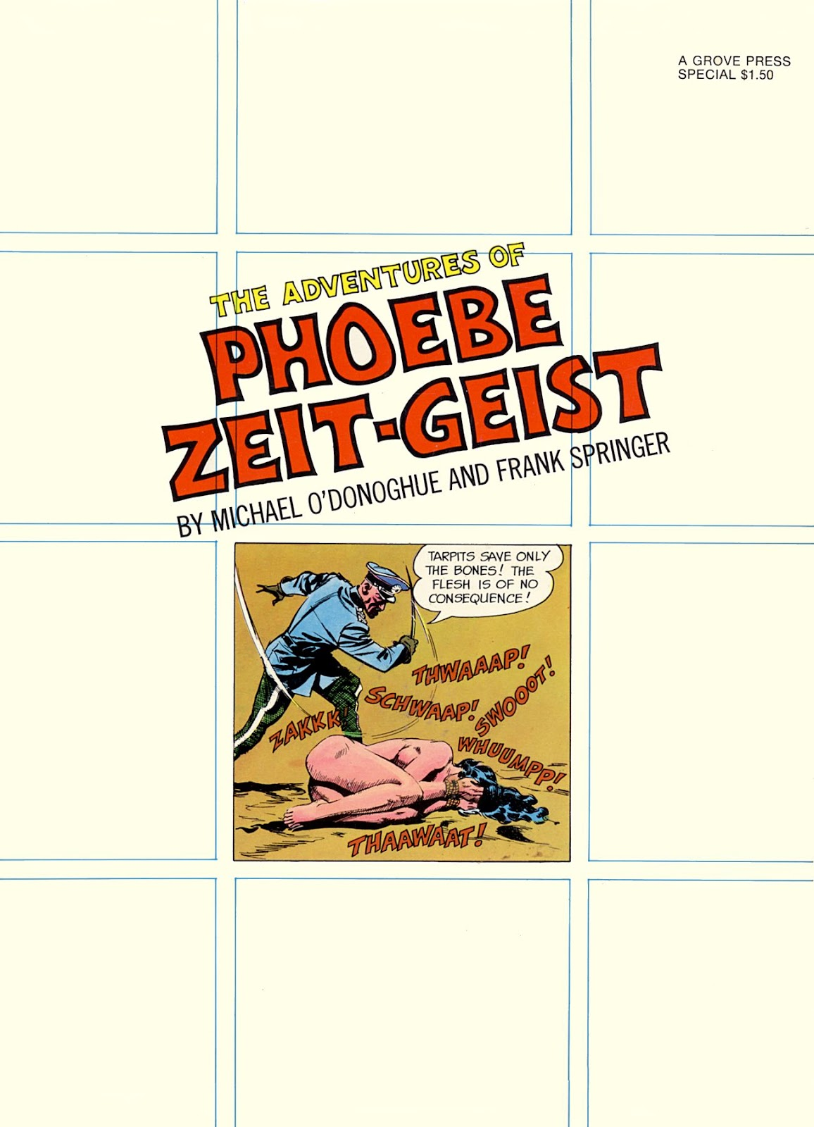 The Adventures of Phoebe Zeit-Geist issue TPB - Page 1