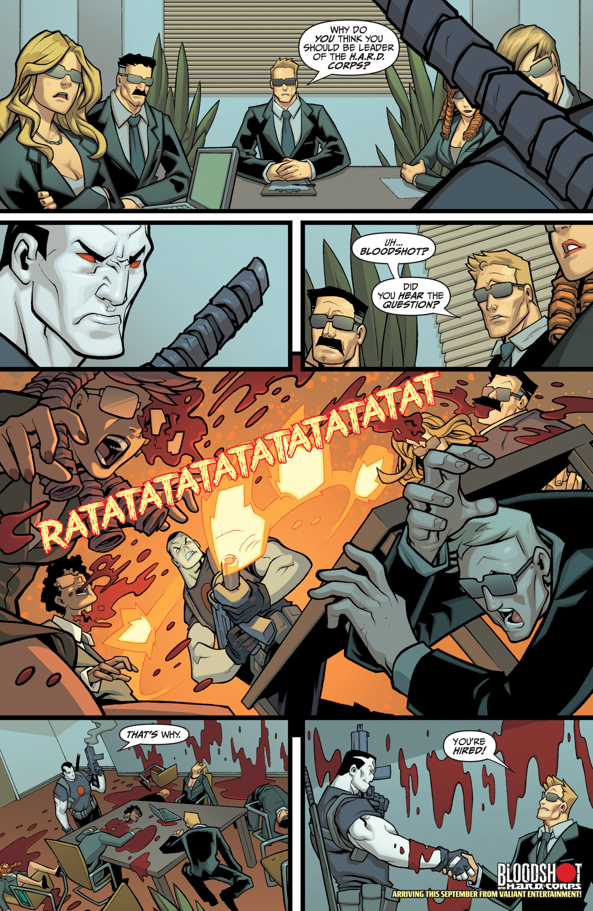 Read online Shadowman (2012) comic -  Issue #8 - 32