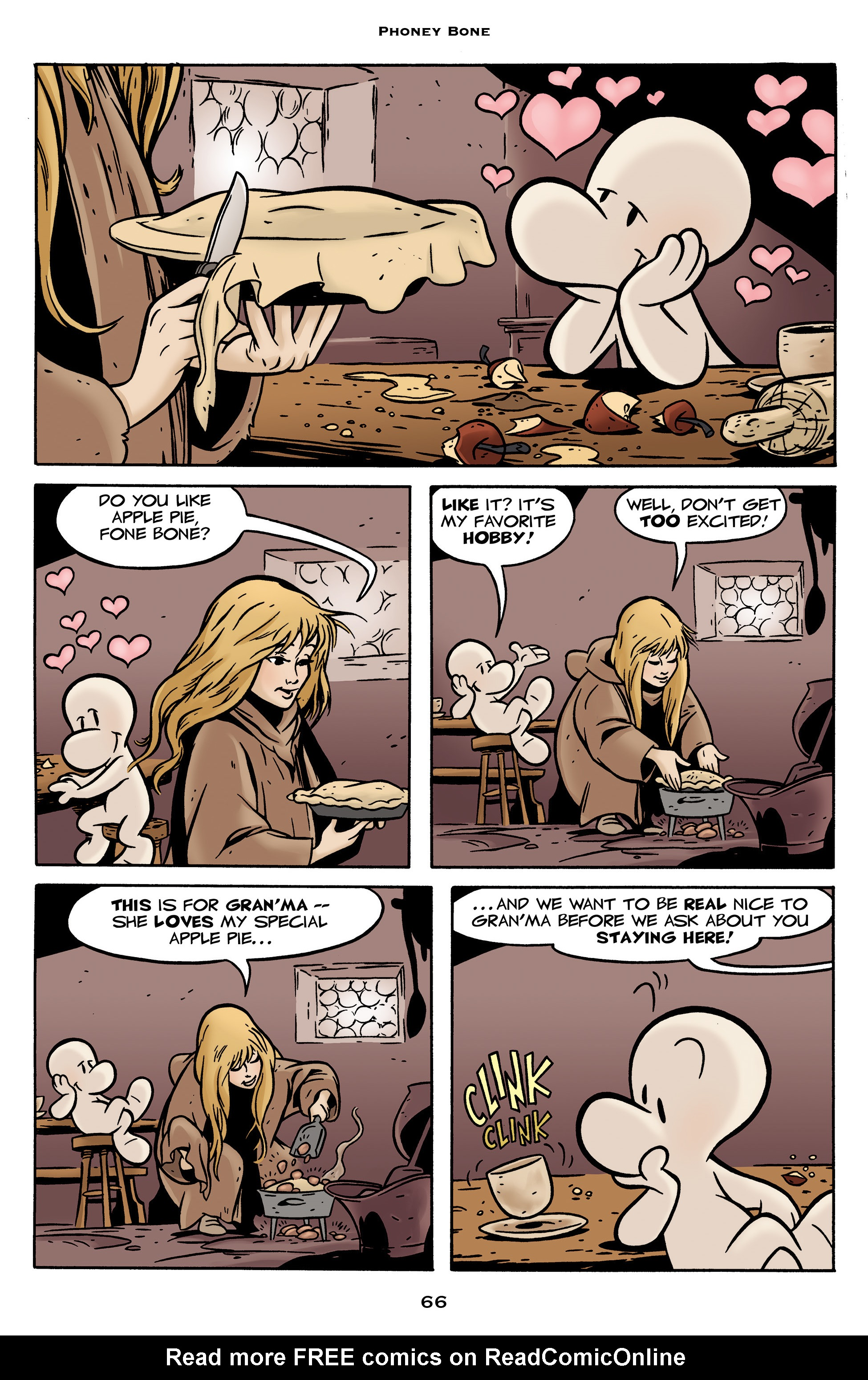 Read online Bone: Out From Boneville comic -  Issue # TPB - 66