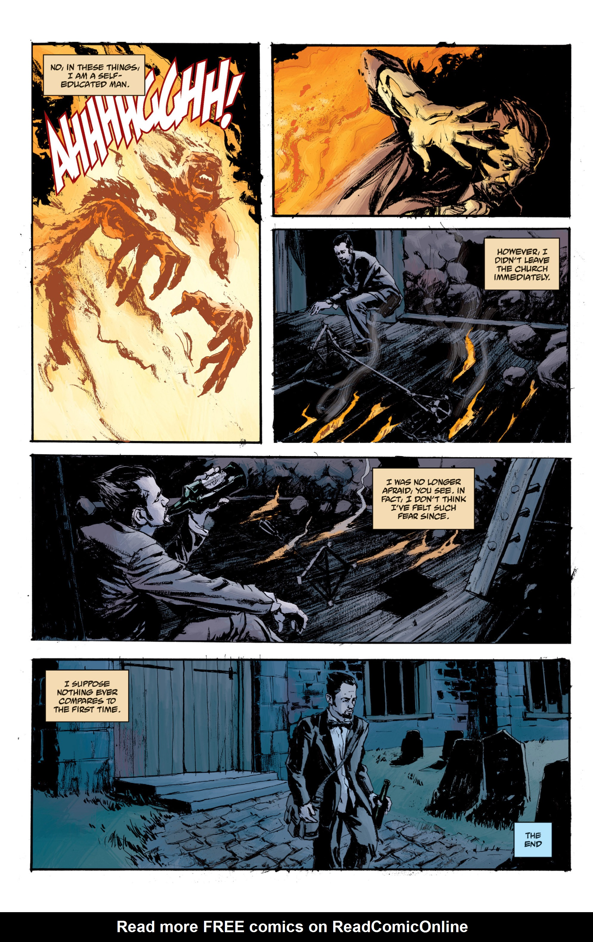 Read online B.P.R.D. (2003) comic -  Issue # TPB 13 - 144