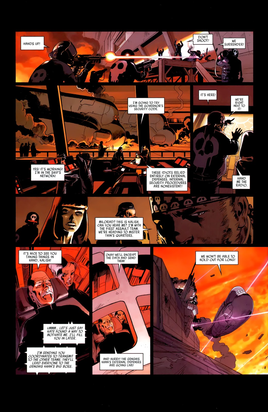 Read online Universal War One: Revelations comic -  Issue #3 - 28