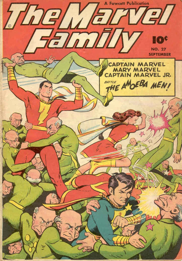 The Marvel Family issue 27 - Page 1