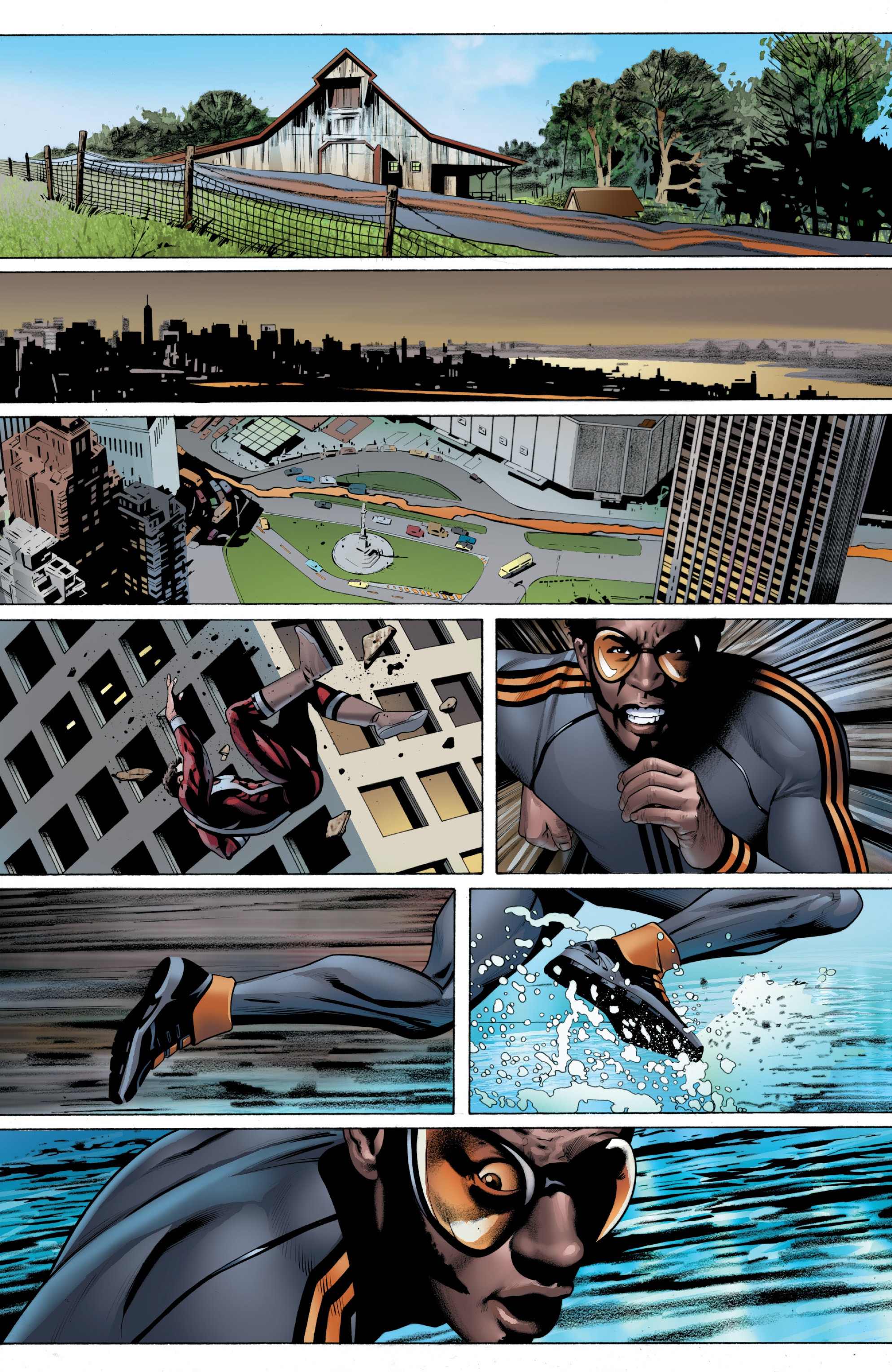 Read online Ultimate Power comic -  Issue #2 - 10