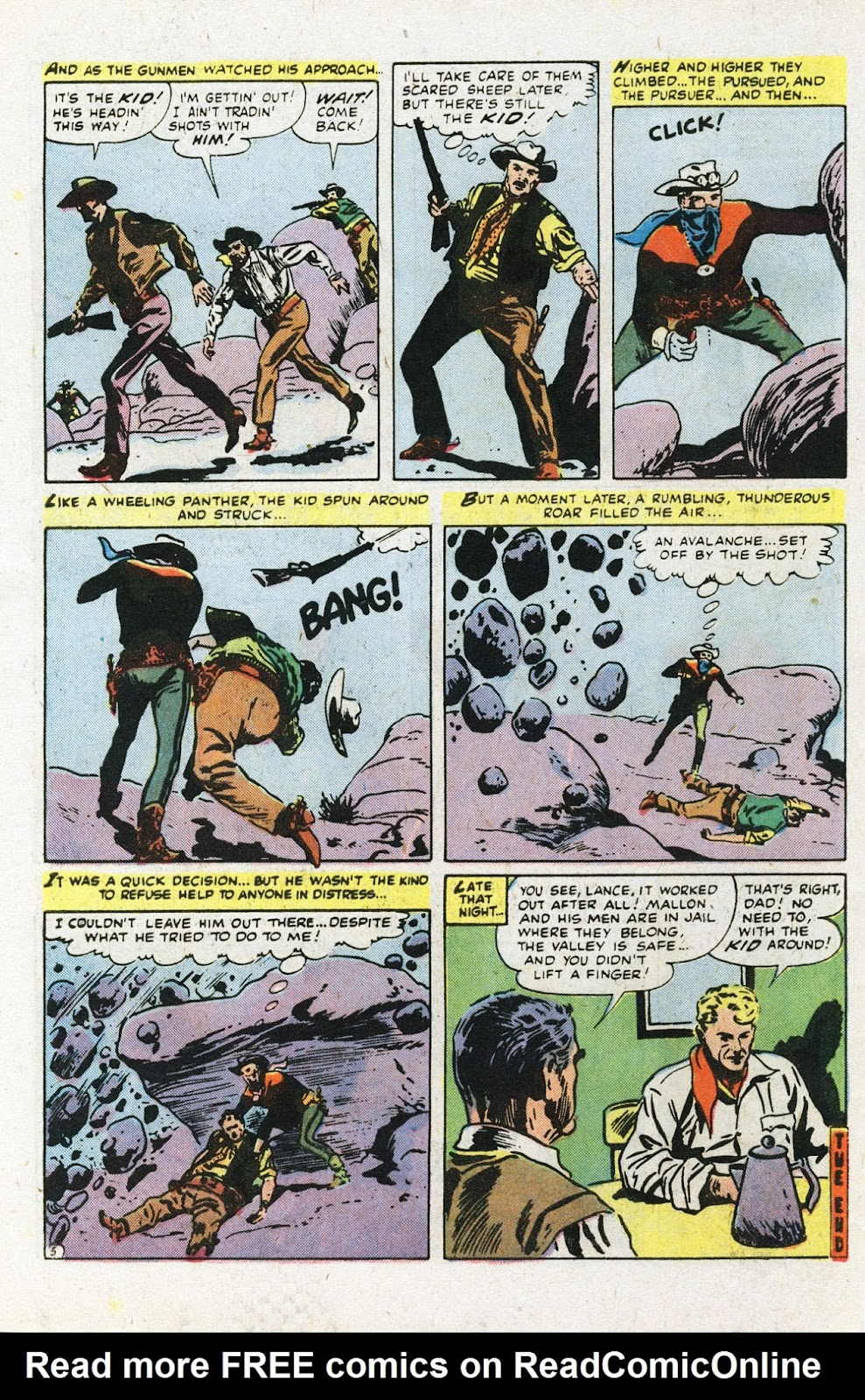 The Outlaw Kid (1970) issue 22 - Page 34