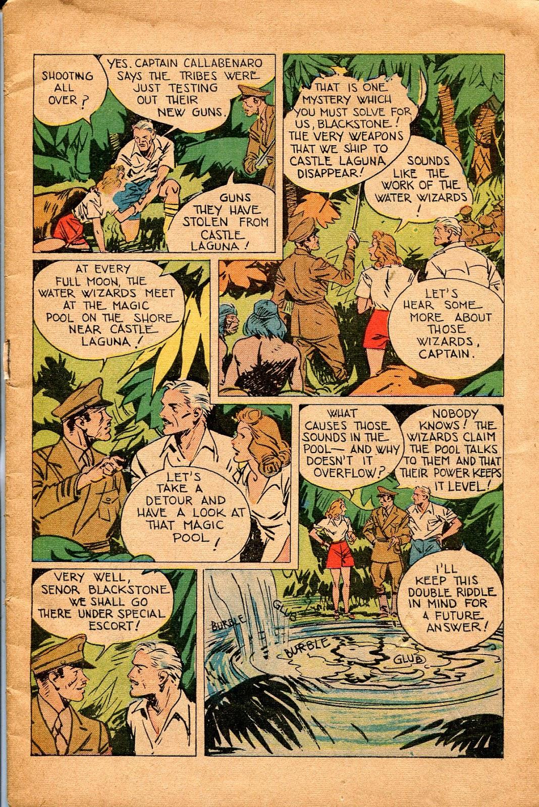 Read online Super-Magician Comics comic -  Issue #34 - 5