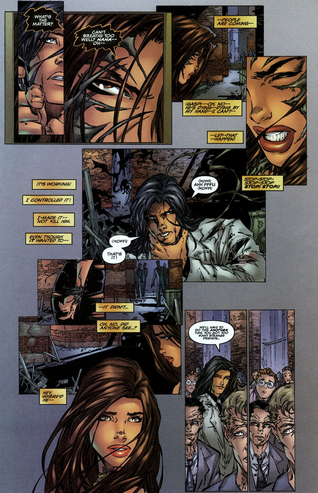 Read online The Darkness (1996) comic -  Issue #0 - 22