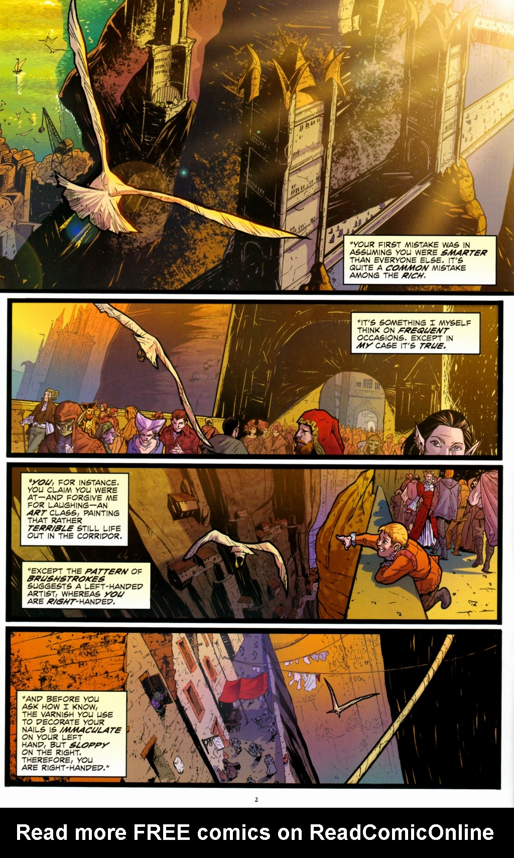 Read online Infestation 2: Dungeons & Dragons comic -  Issue #1 - 5