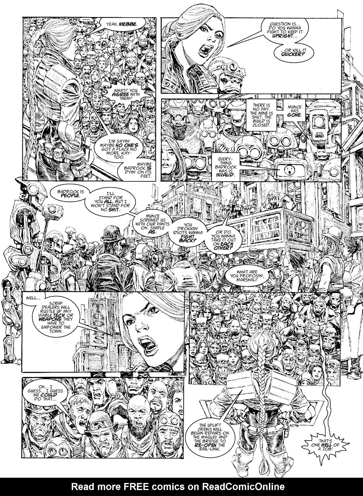 Judge Dredd Megazine (Vol. 5) Issue #381 #180 - English 60