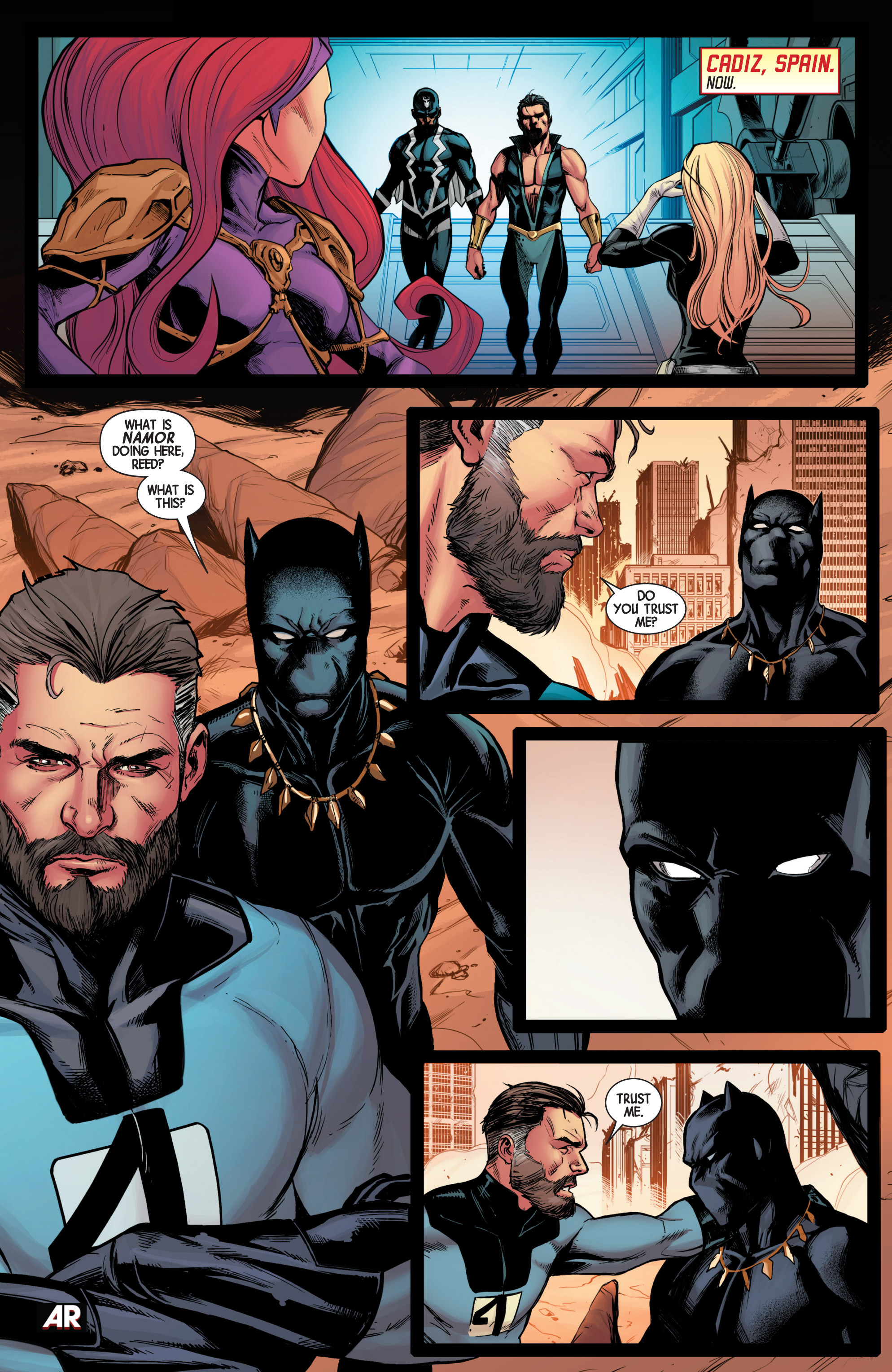 Read online Avengers (2013) comic -  Issue #40 - 6