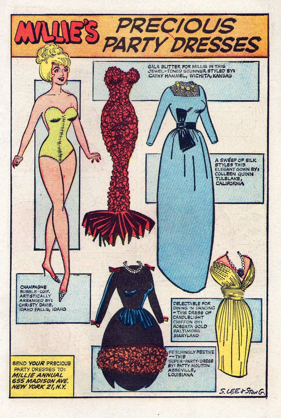 Read online Millie the Model comic -  Issue # Annual 2 - 41
