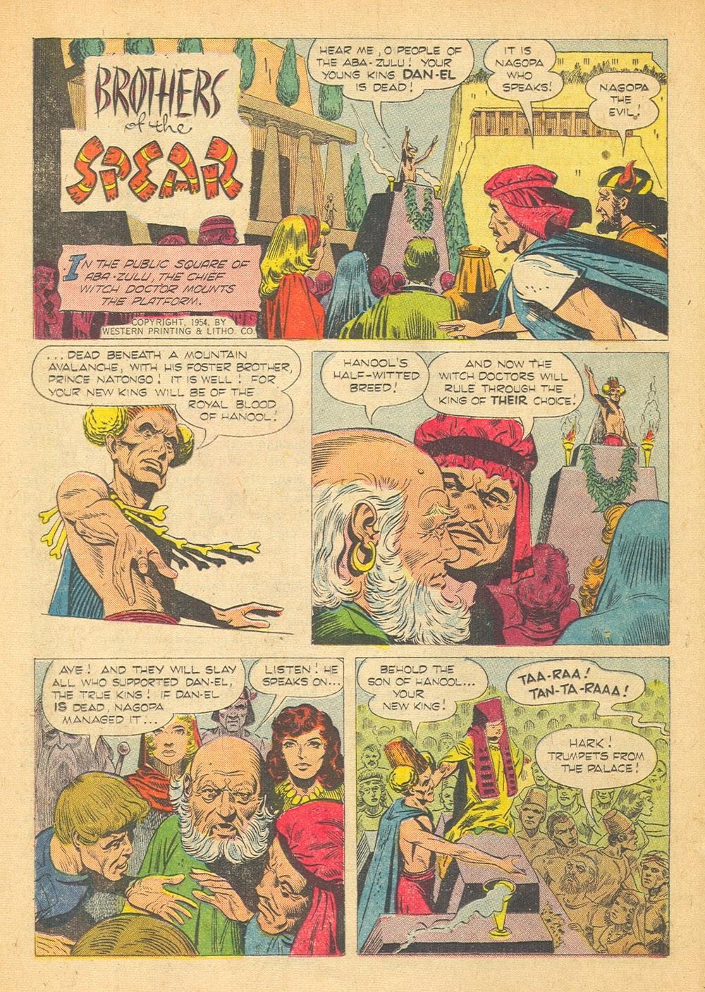 Tarzan (1948) issue 57 - Page 44