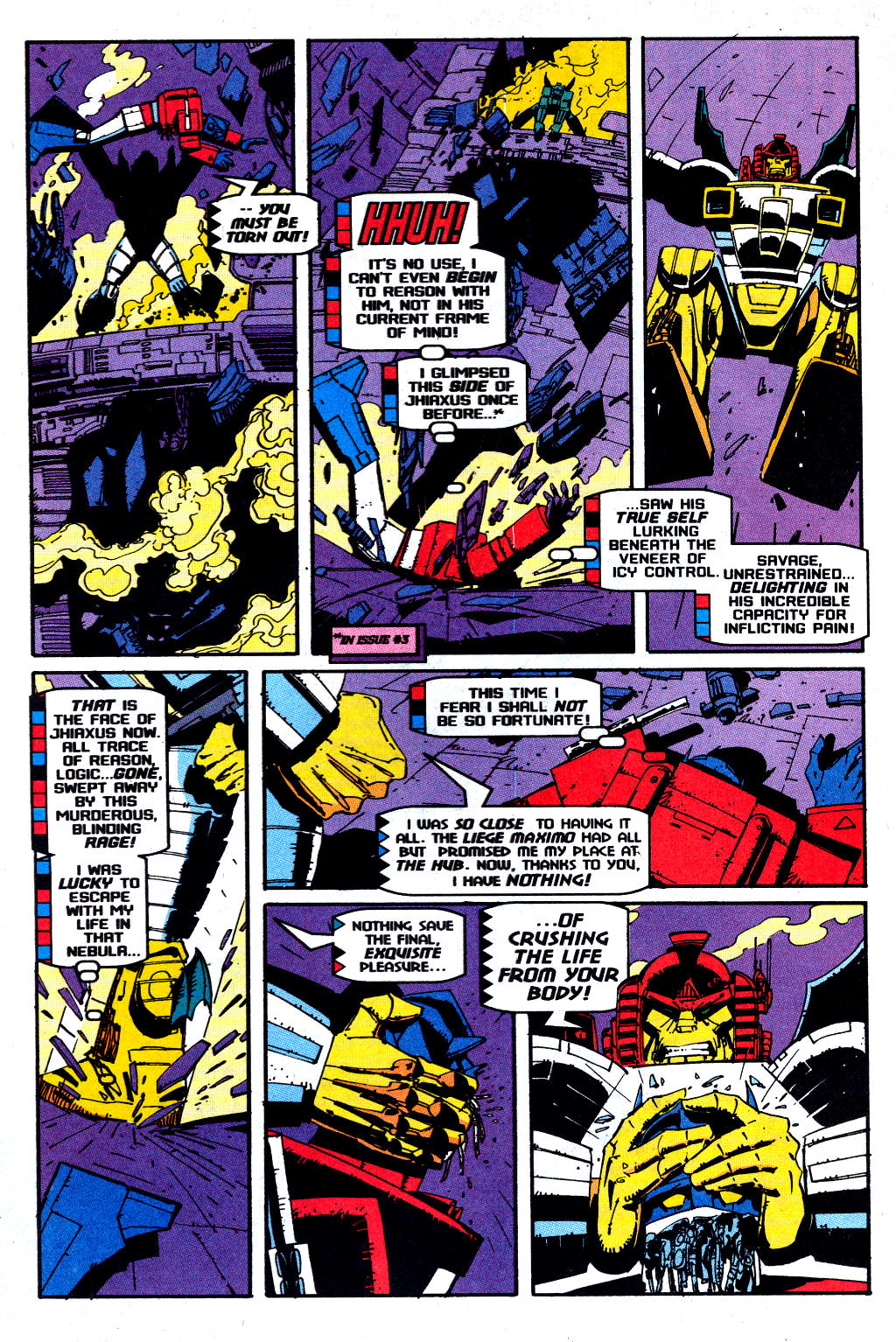 Read online Transformers: Generation 2 comic -  Issue #12 - 17