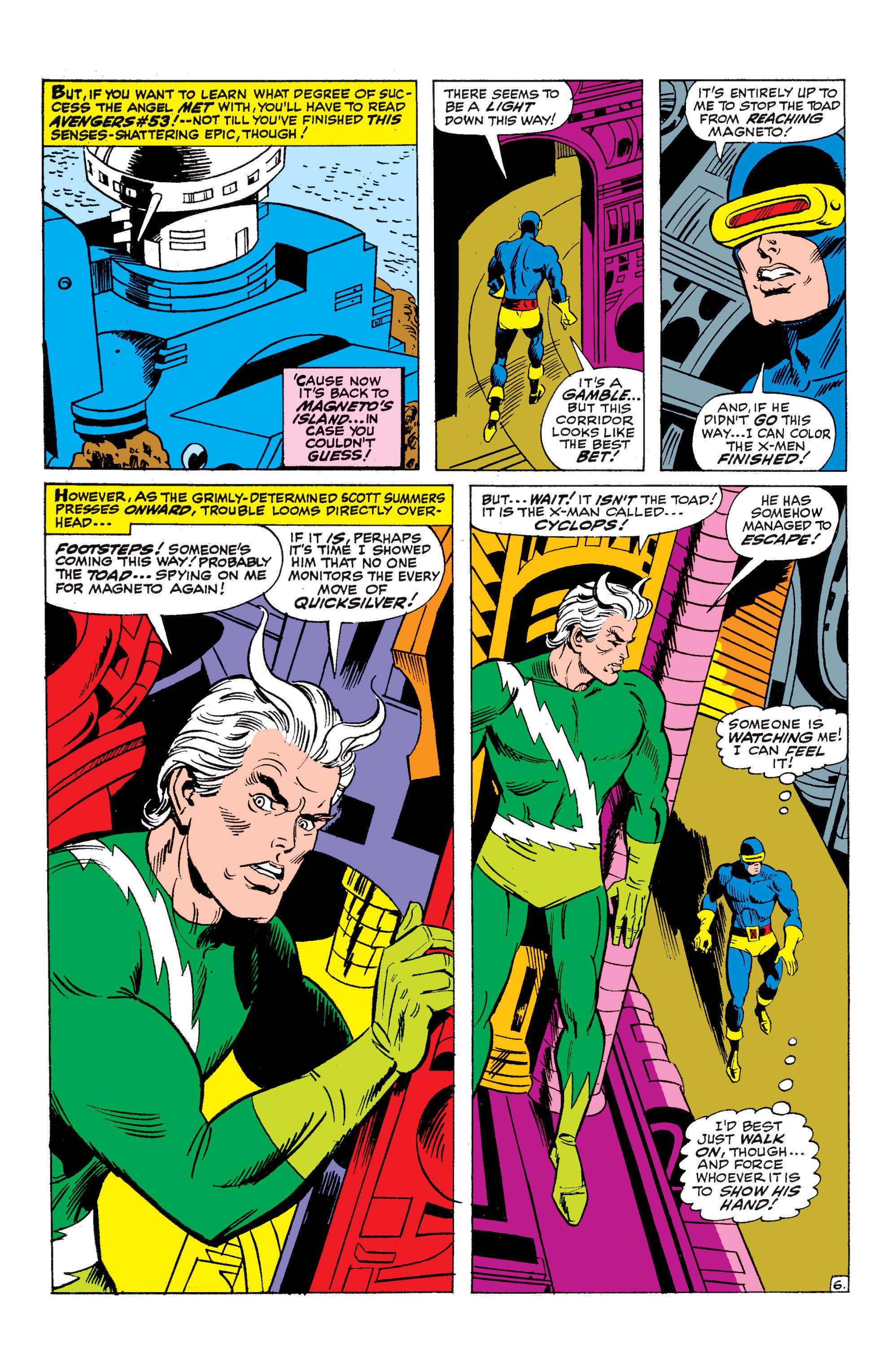 Uncanny X-Men (1963) 45 Page 6