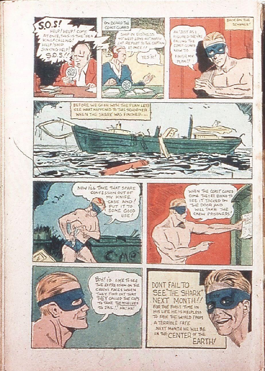 Read online Amazing Man Comics comic -  Issue #9 - 67