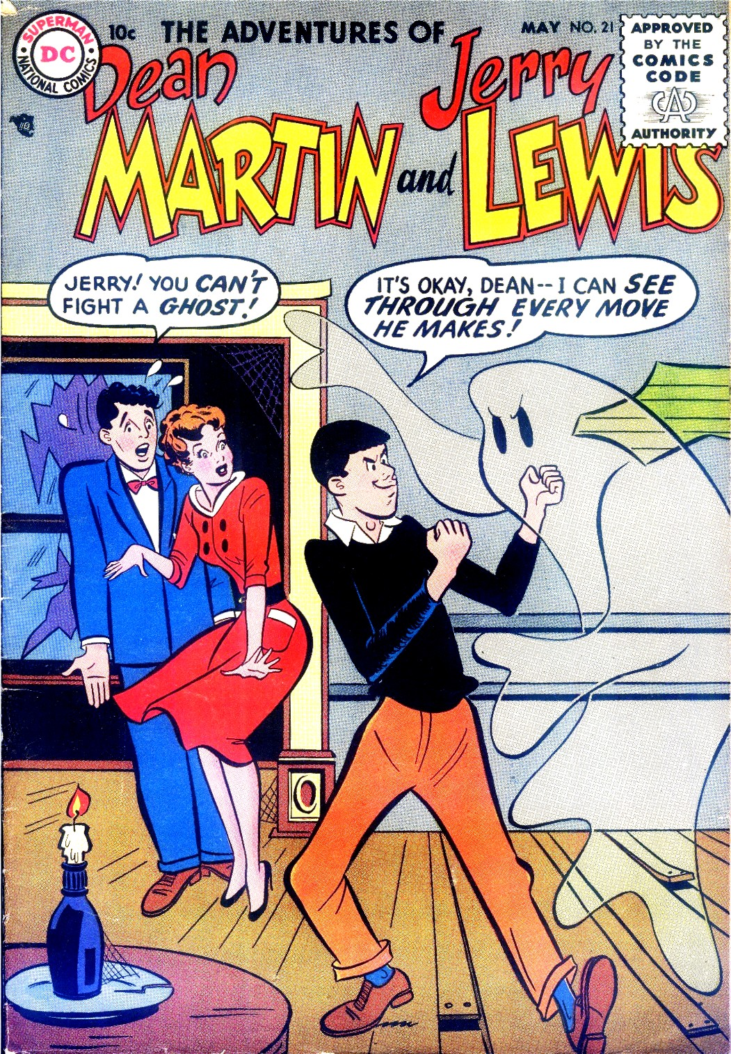 The Adventures of Dean Martin and Jerry Lewis 21 Page 1