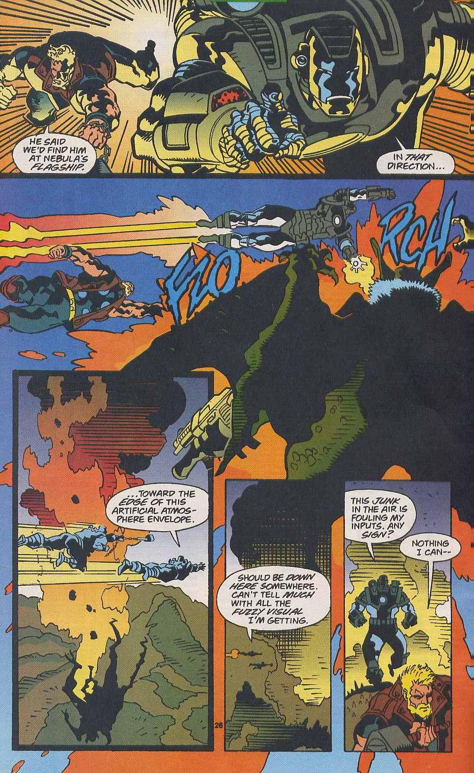 Read online Secret Defenders comic -  Issue #9 - 20