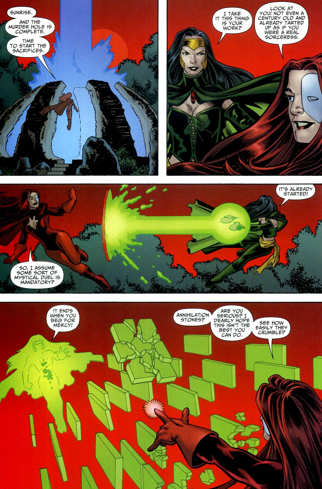 Read online Shadowpact comic -  Issue #2 - 16