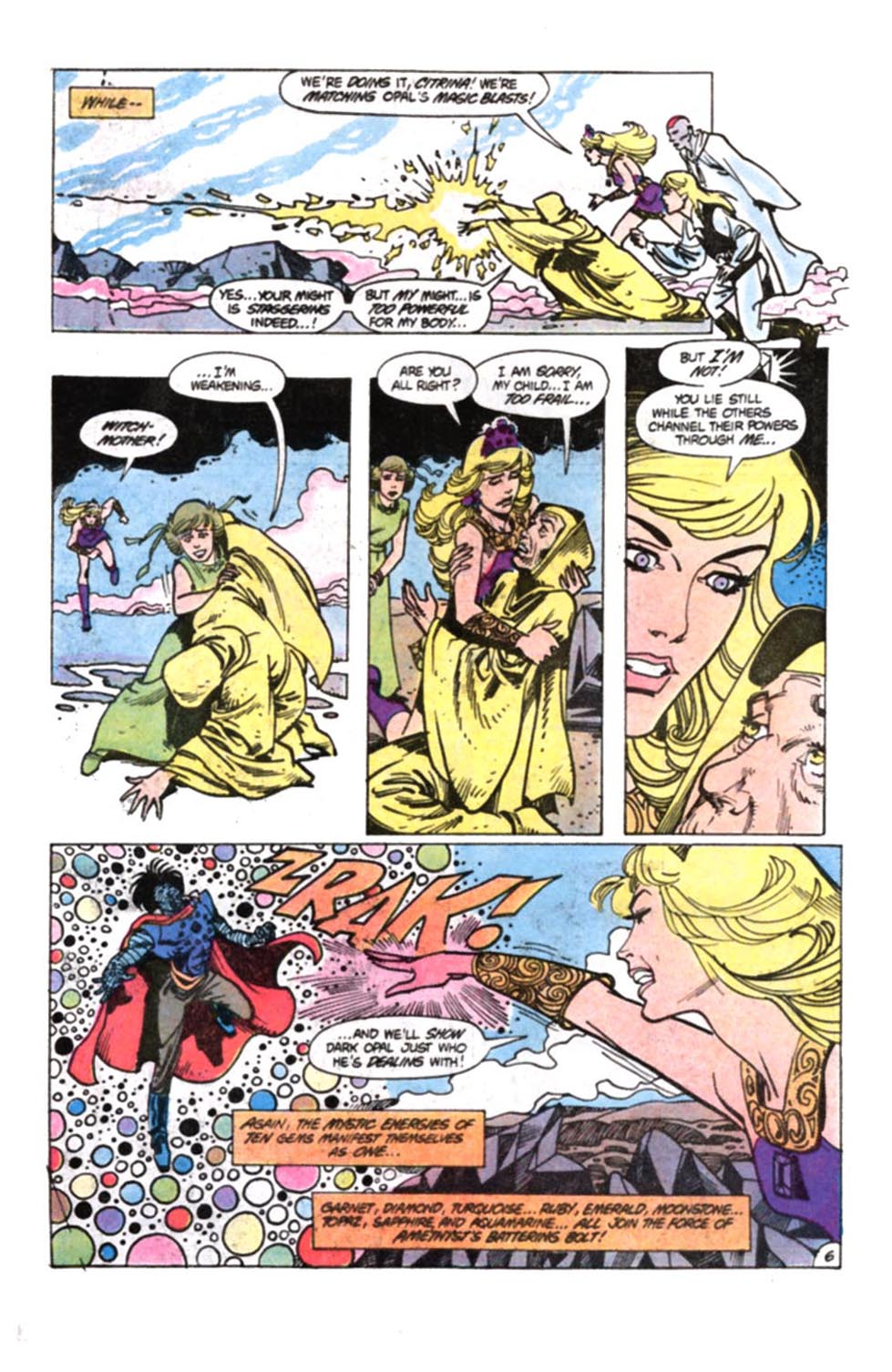 Read online Amethyst, Princess of Gemworld comic -  Issue #12 - 7