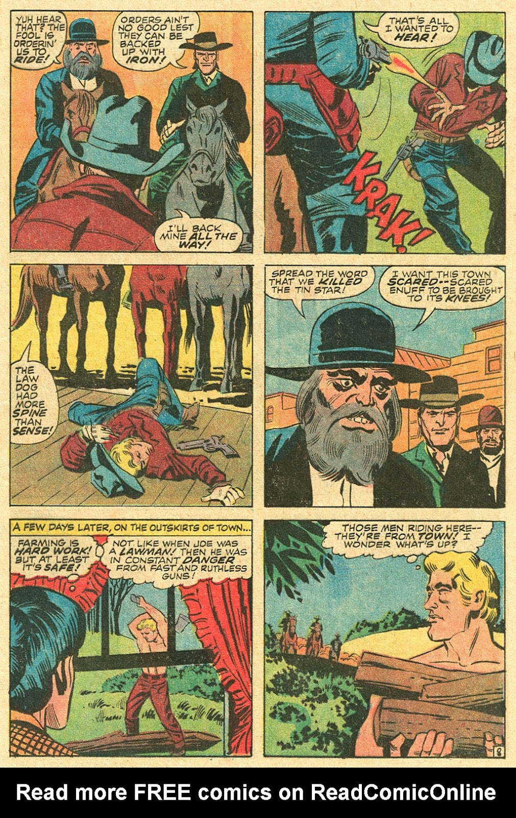 The Rawhide Kid (1955) issue 100 - Page 13