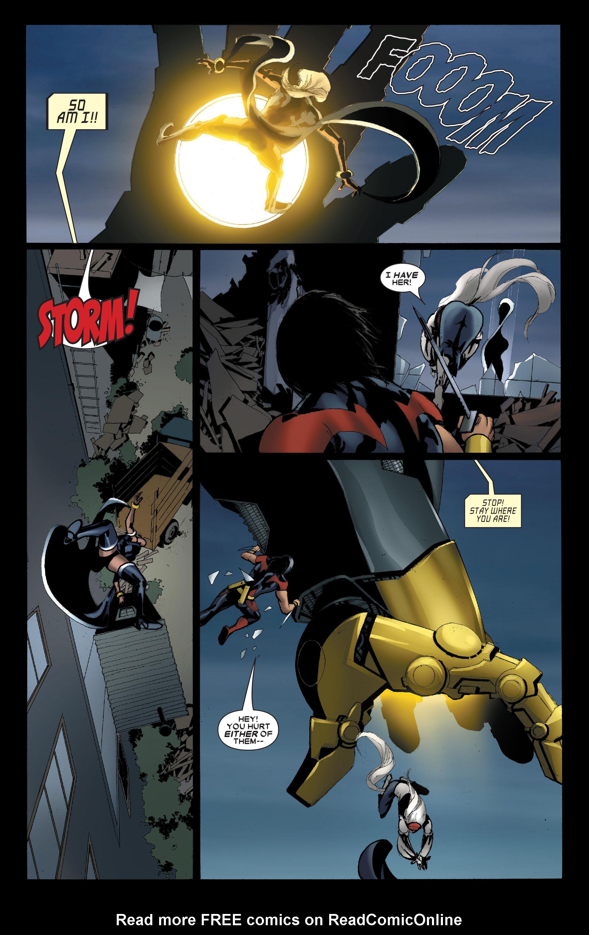 Read online Uncanny X-Men (1963) comic -  Issue #489 - 22