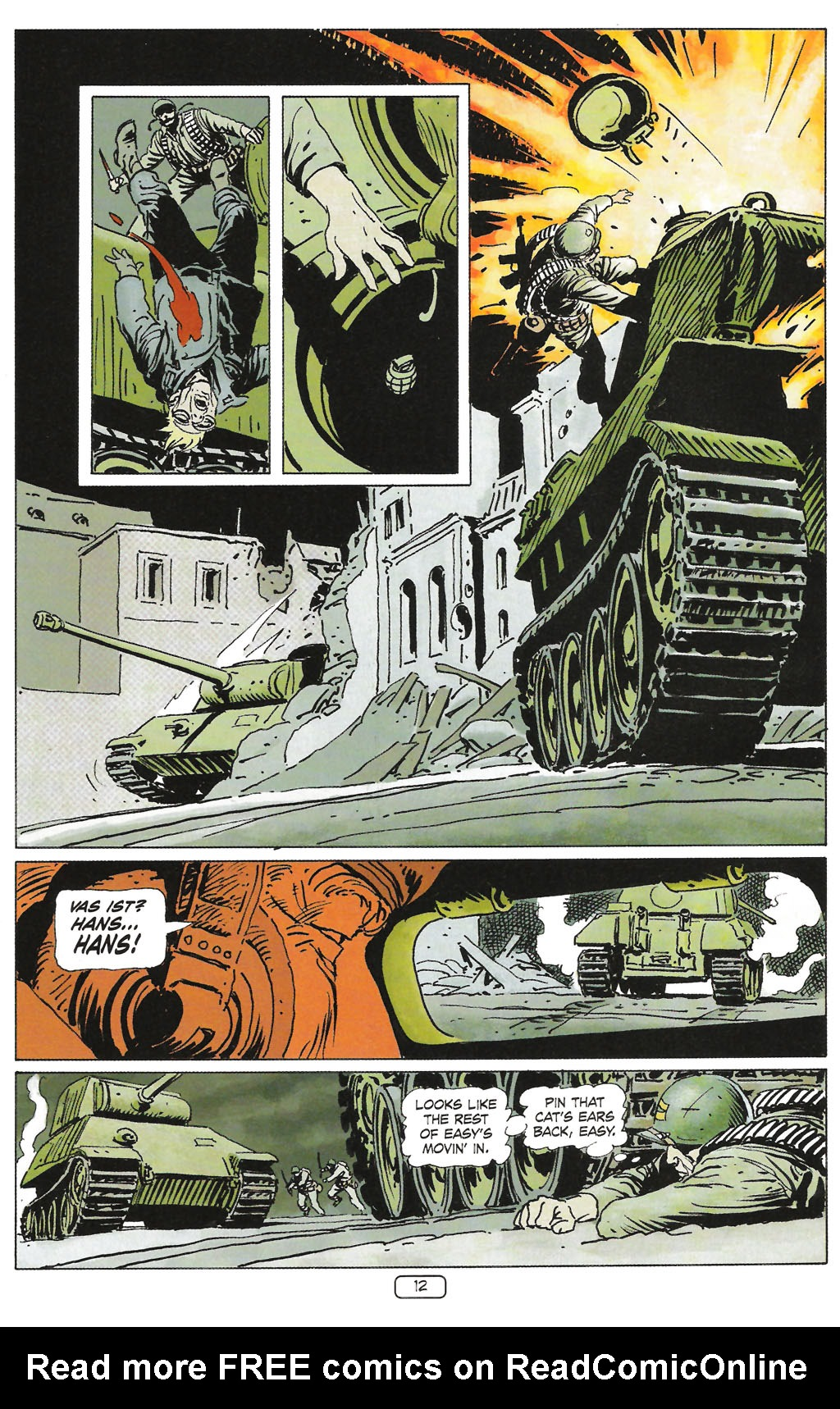 Read online Sgt. Rock: The Prophecy comic -  Issue #1 - 14