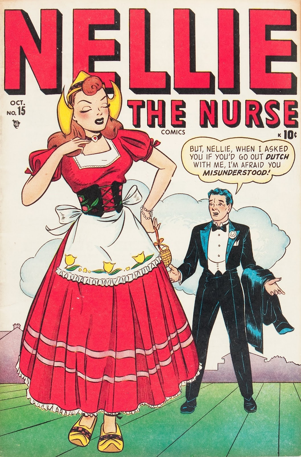 Read online Nellie The Nurse (1945) comic -  Issue #15 - 1