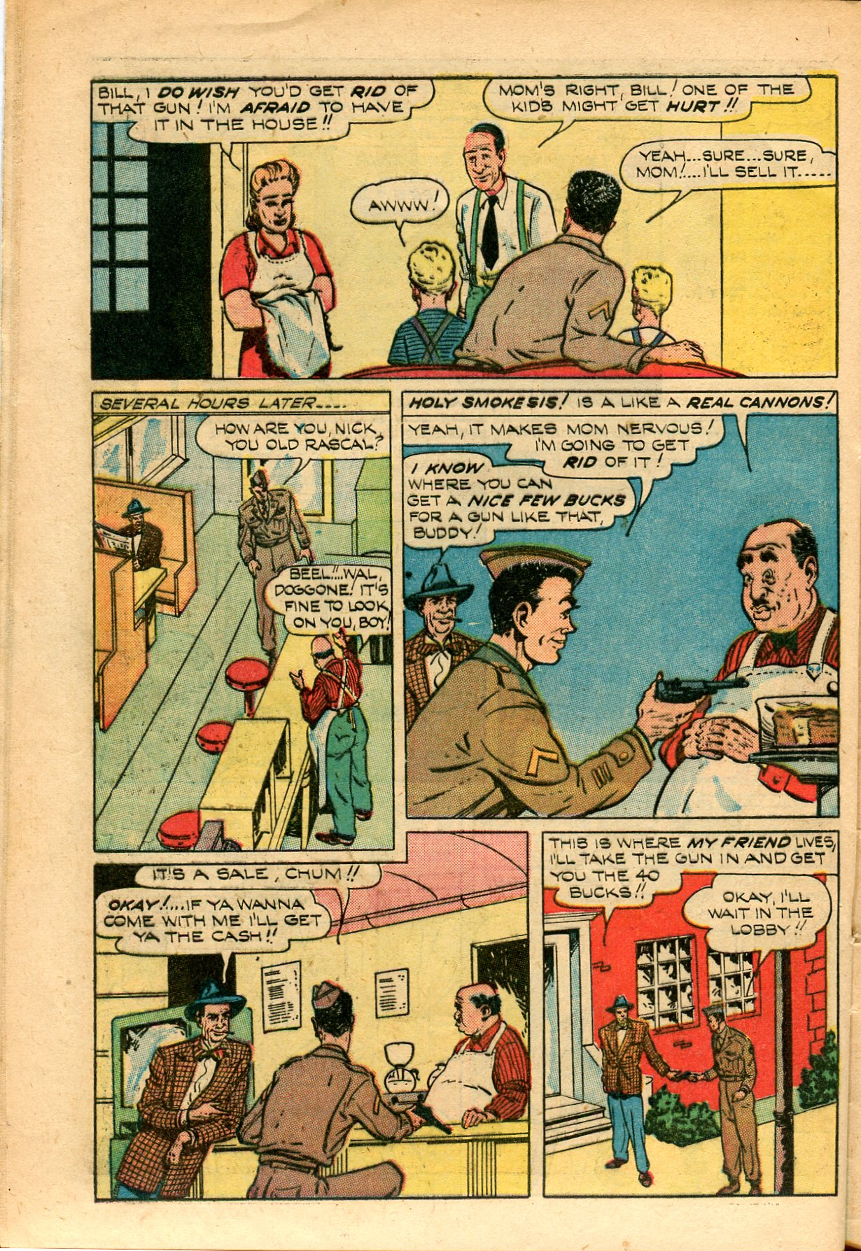 Read online Shadow Comics comic -  Issue #82 - 40