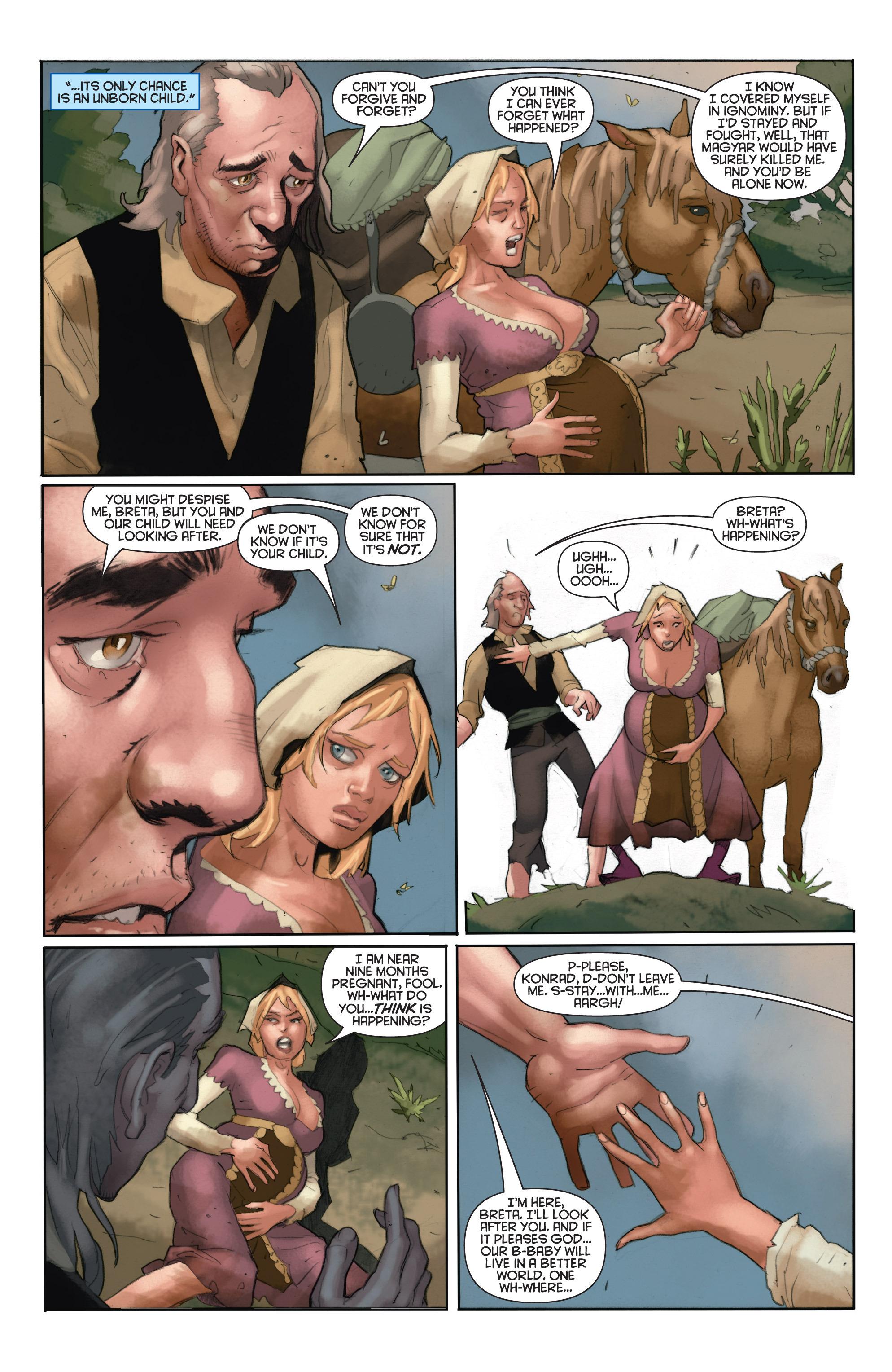 Read online Eternal Warrior: Days of Steel comic -  Issue #1 - 13
