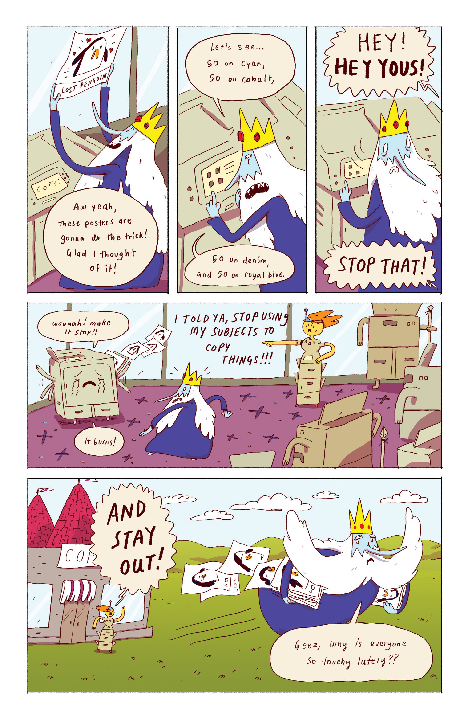 Read online Adventure Time: Ice King comic -  Issue #1 - 11