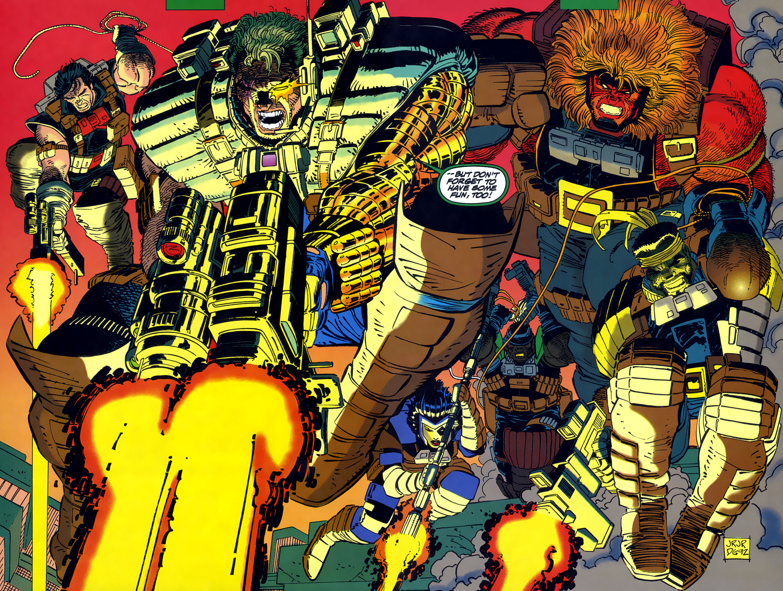 Read online Cable - Blood and Metal comic -  Issue #1 - 6