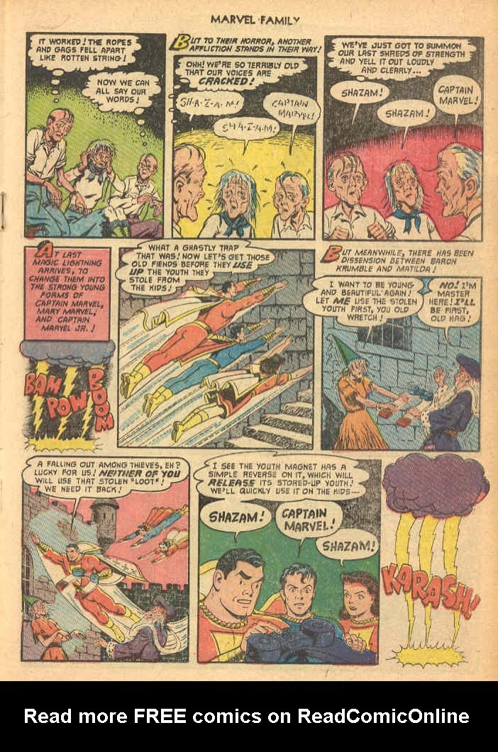 The Marvel Family issue 69 - Page 19